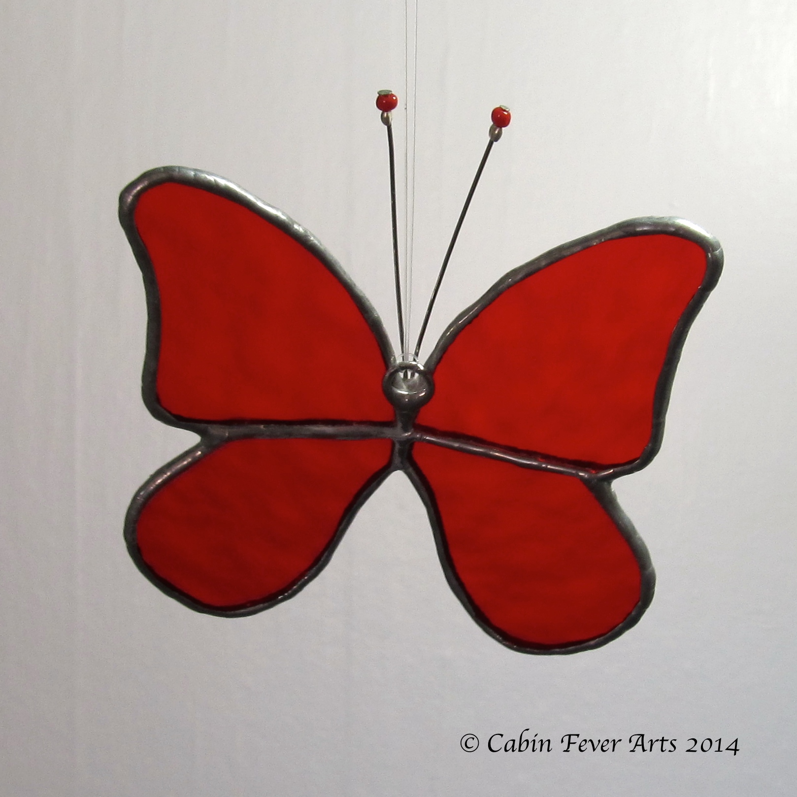 Butterfly - Medium - Red