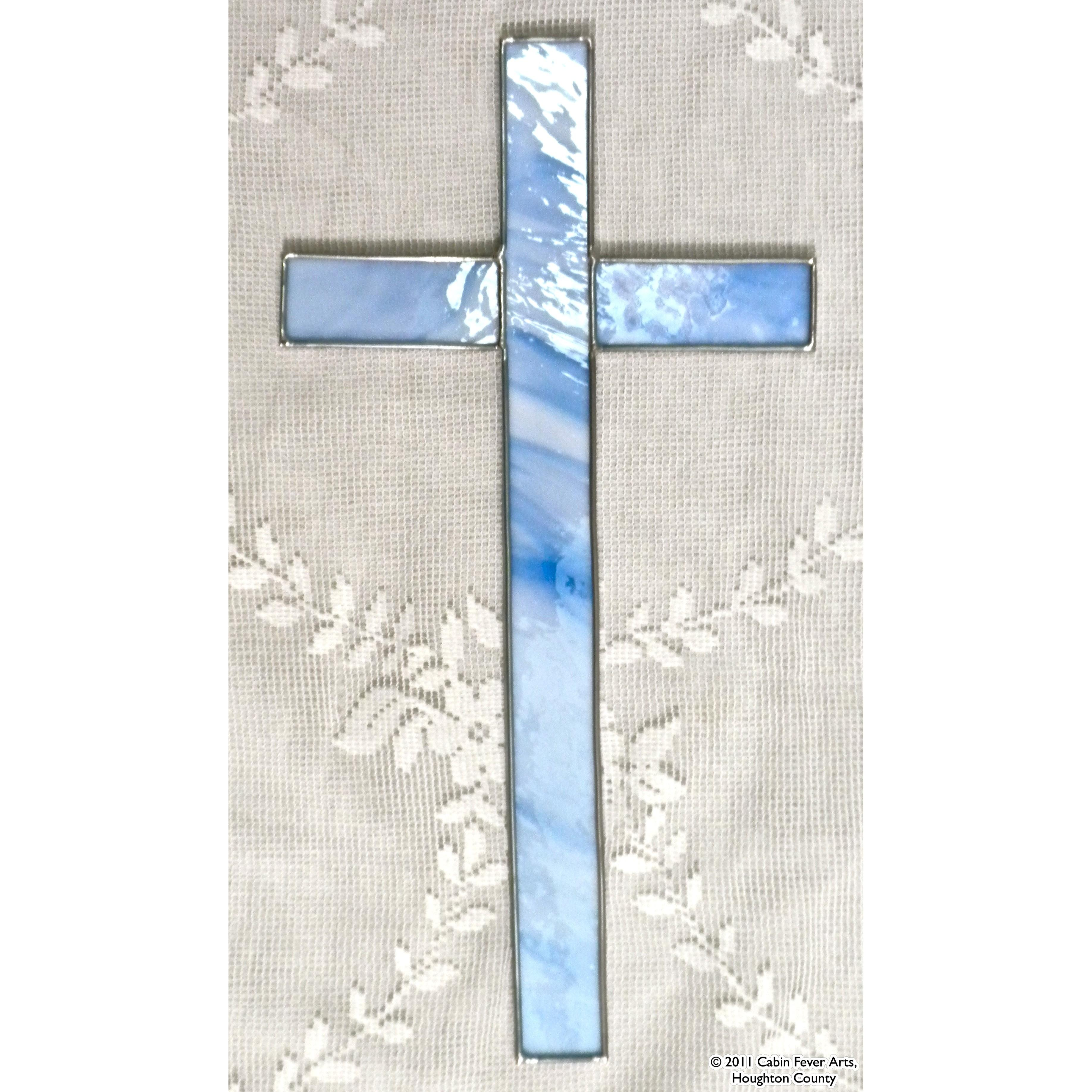 Cross - Light Blue