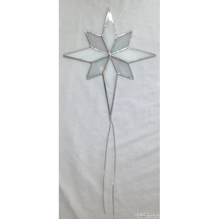 Star Tree Topper - 8 x 9 Opal